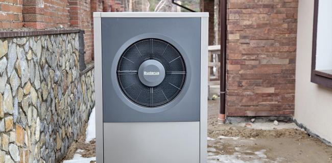 Повітряний тепловий насос BUDERUS 17 кВт
