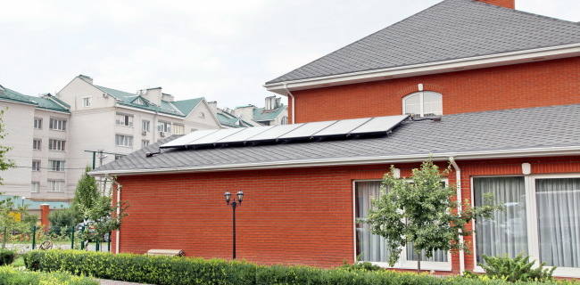 Встановлення сонячних колекторів