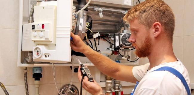 Проверка давления газа в статике и динамике.