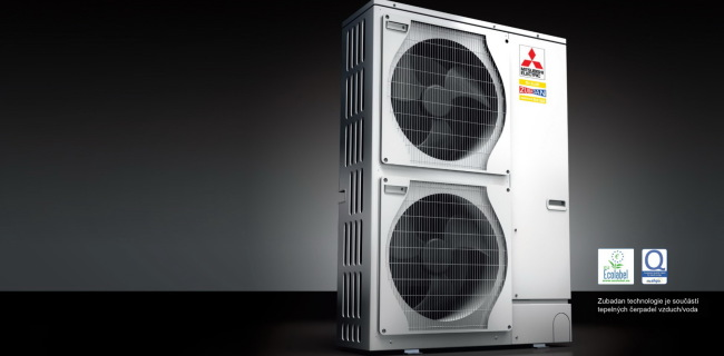Купить, установить тепловой насос Zubadan MITSUBISHI ELECTRIC, Япония
