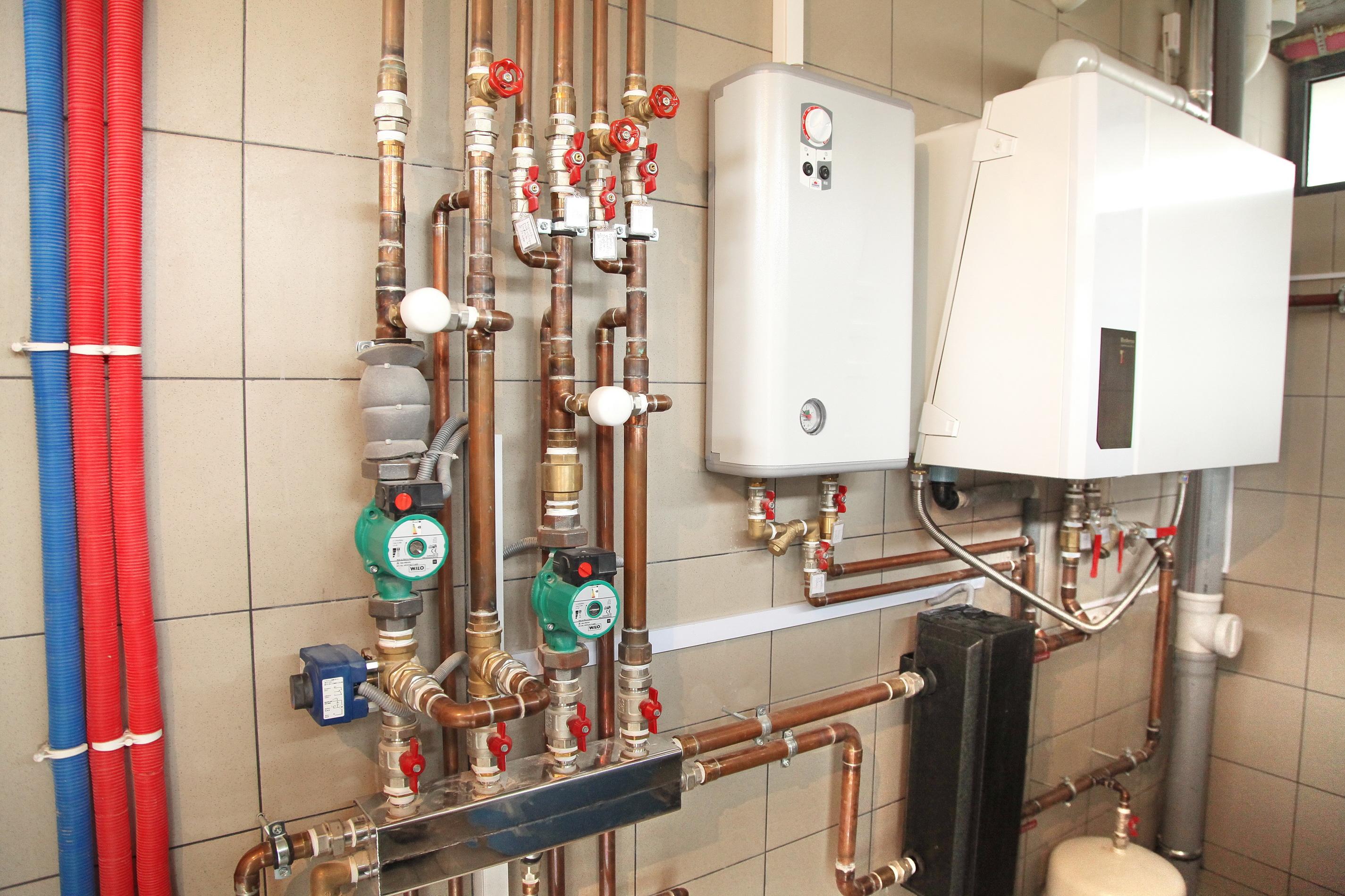 газовые котлы отопления для газовой котельной