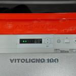 Один из лучших пиролизных котлов VIESSMANN Vitoligno 100-S. Топливо - сухие деревянные поленья длиною до 50 см. КПД 90% установить