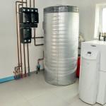 Геотермальный тепловой насос Vaillant 17 кВт с функциями отопления, горячего водоснабжения, охлаждения летом установить