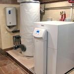 Система опалення на геотермальному тепловому насосі