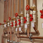 Трубне обладнання в системі гарячого водопостачання