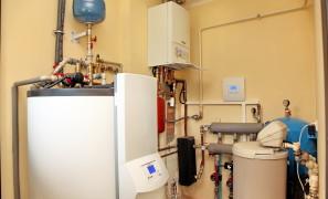 Замена котла на газовый конденсационный котел Vaillant
