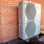 Модернизация: установка воздушного теплового