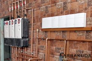 Тепловой насос удаленно контролируется и управляется с мобильных устройств через интернет. Модульная автоматика позволяет расширять функции системы