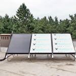 Плоские солнечные коллектора Vaillant монтаж