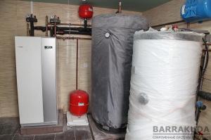 Бойлер 300 л. с увеличенным теплообменником, обеспечивает комфортное пользование горячей водой