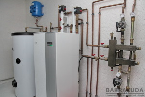 Високий коефіцієнт перетворення теплового насоса і тариф на електроопалення, забезпечують мінімальні витрати.