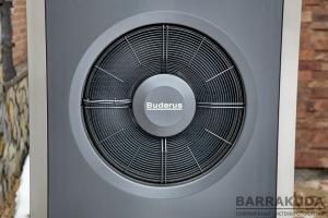 Повітряно-водяний тепловий насос, реверсивний (опалення, охолодження), інверторний (змінна потужність), температура подачі теплового насоса + 62 С°; межі робочої температури зовнішнього повітря: опалення -20 ... + 45 С°, охолодження +15 ... + 45 С°;