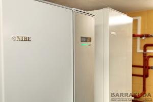Комфортное пользование горячей водой обеспечивает высокоэффективный бойлер NIBE VPB300.
