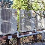Каскадные схемы позволяют получить воздушный тепловой насос требуемой мощности