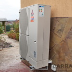 Воздушные тепловые насосы - высокая эффективность, при простоте в установке