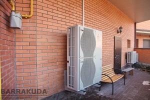 Тепловий насос повітря - вода встановити
