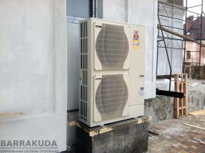Монтаж повітряного теплового насоса