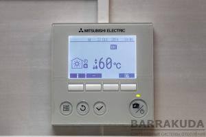 Отопление на воздушных тепловых насосов