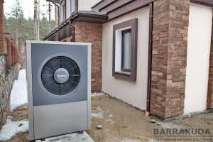 Воздушный тепловой насос нового поколения BUDERUS Logatherm WPL17 ARB 17 кВт, с функциями отопления, охлаждения, горячего водоснабжения, нагрева бассейна.