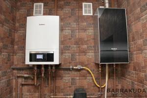 В зависимости от наружной температуры и с учетом тарифов на газ и электричество, к системе подключается источник обеспечивающий большую экономичность отопления.